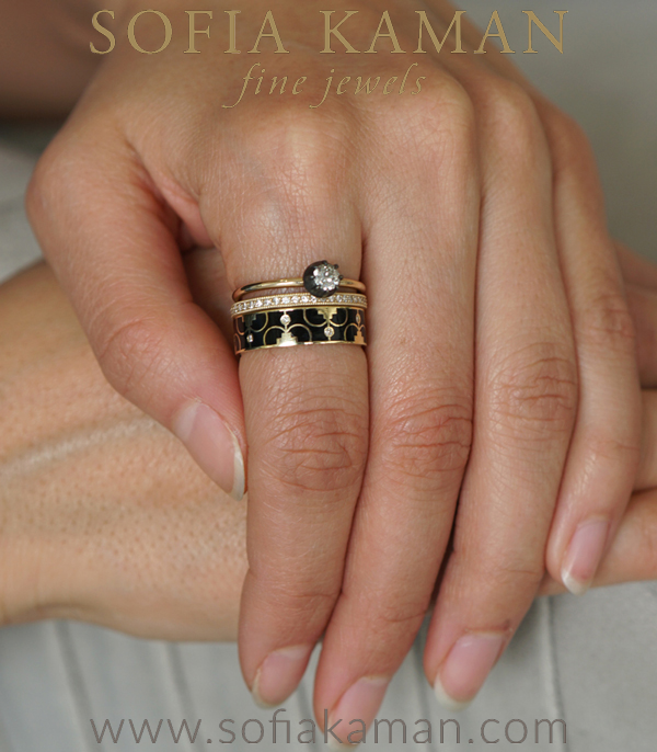 Vintage Inspired Stacking Ring Set