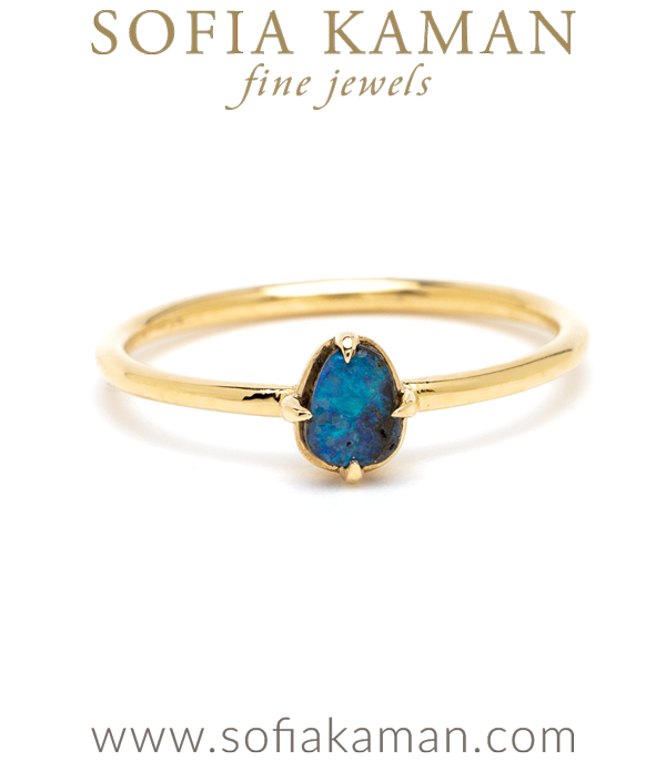 Boho Opal Stacking Ring