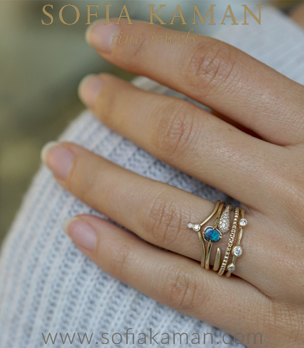 Boho Stacking Ring Set