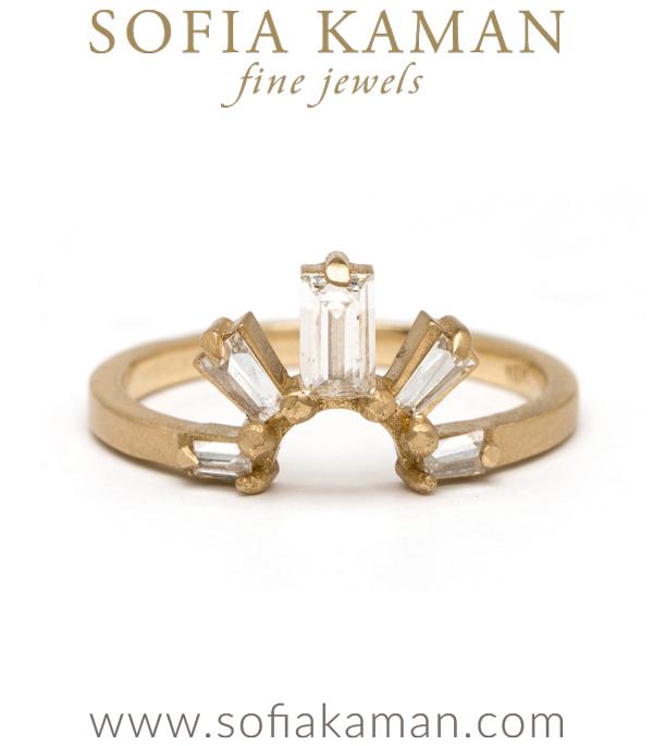 Diamond Sunrise Ring