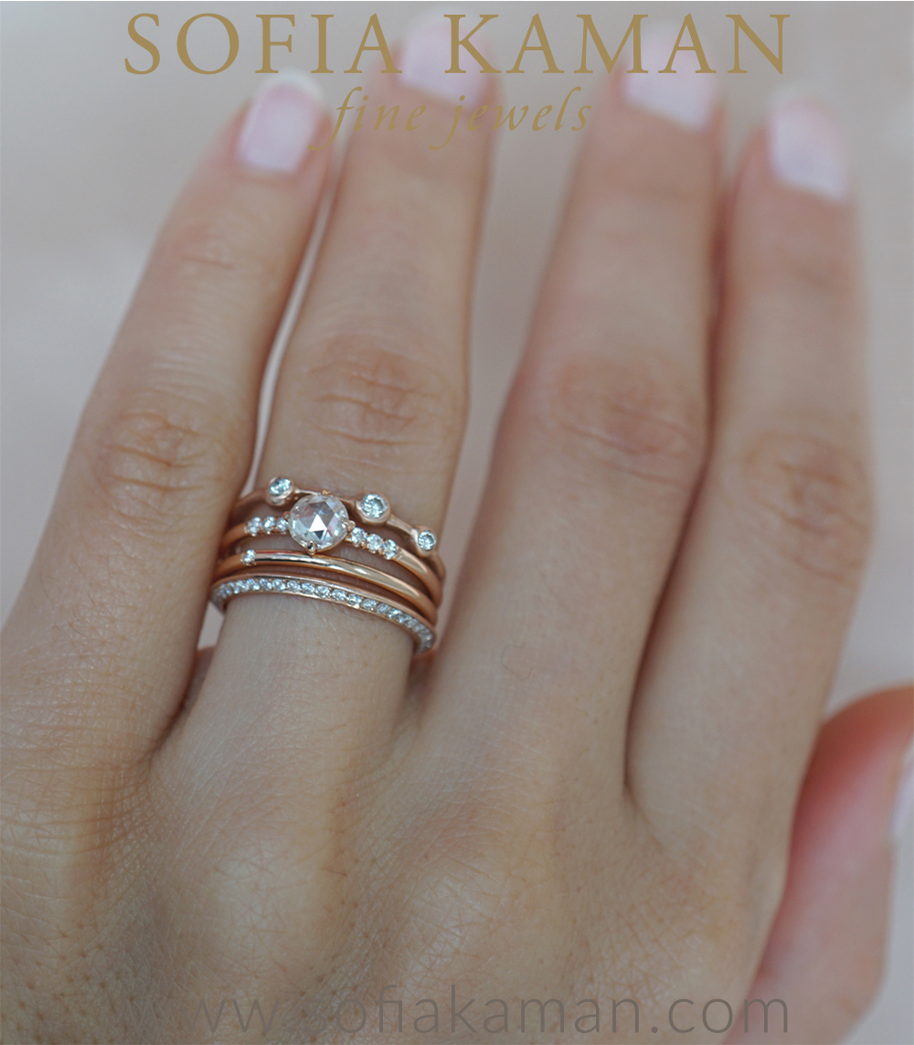 Bohemian Stacking Ring Set