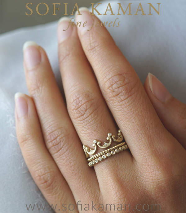 Sofia Kaman Stacking Ring Set