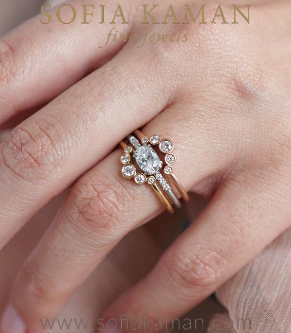 Sofia Kaman Unique Engagement Ring Set