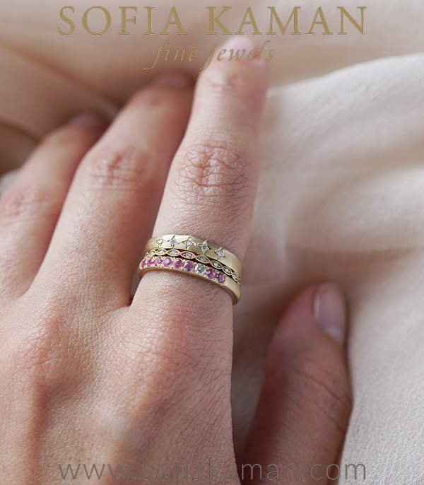 Sofia Kaman Unique Stacking Ring Set