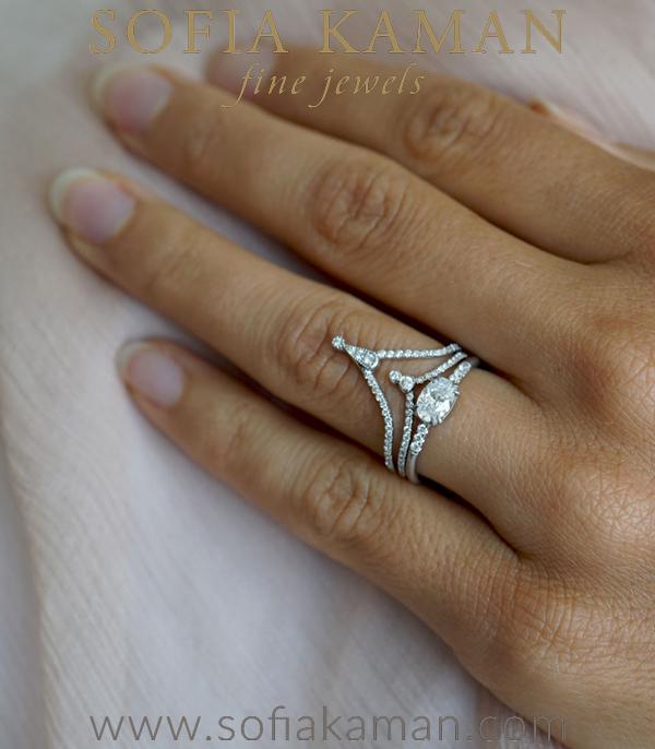 Sofia Kaman Unique Stacking Ring Set