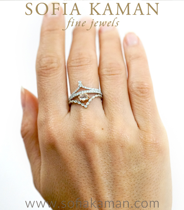 Boho Stacking Ring Set For Unique Engagement Rings