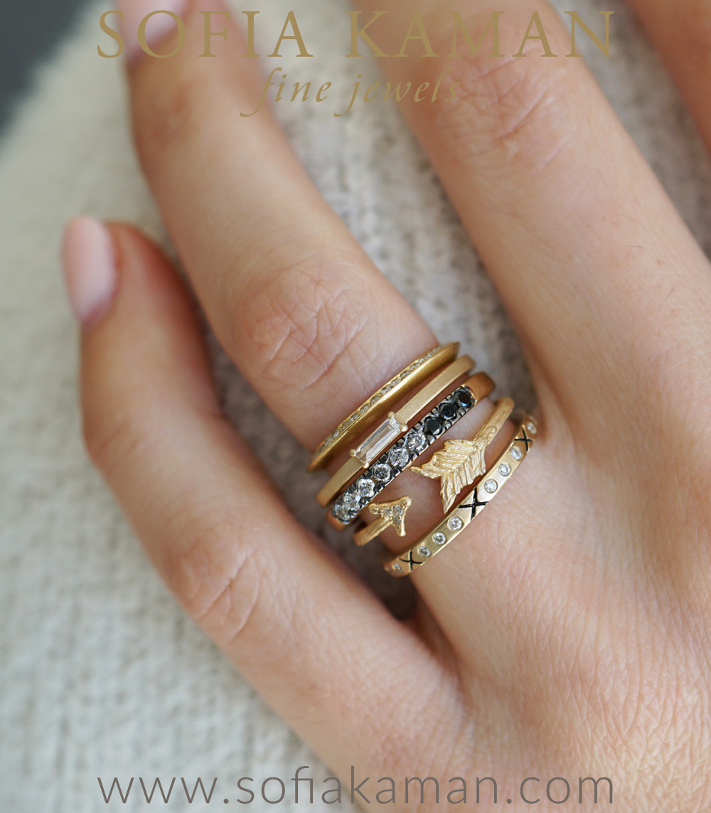 Sofia Kama Stacking Ring Set