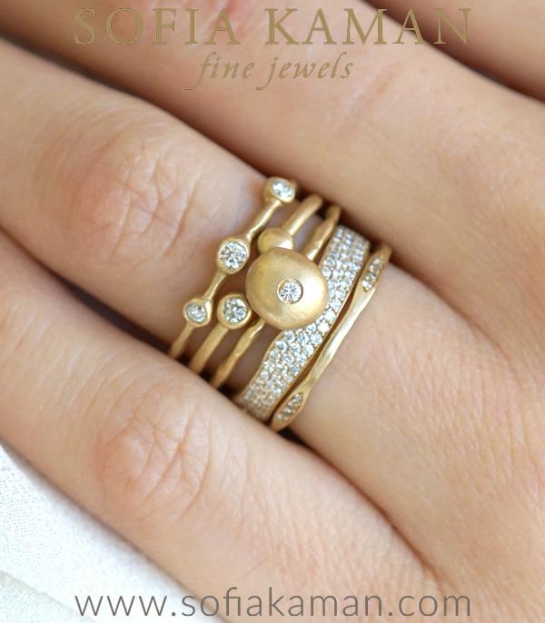 Unique Engagement Ring Stack