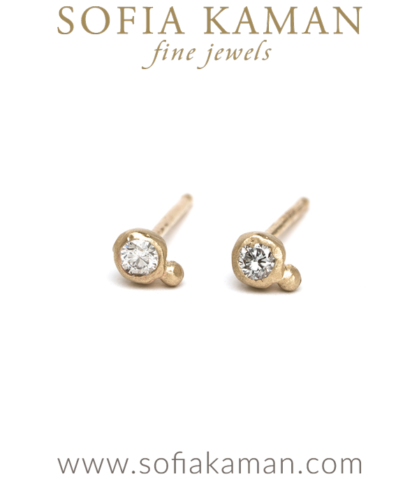 Ethically Sourced Diamond Boho Earrings