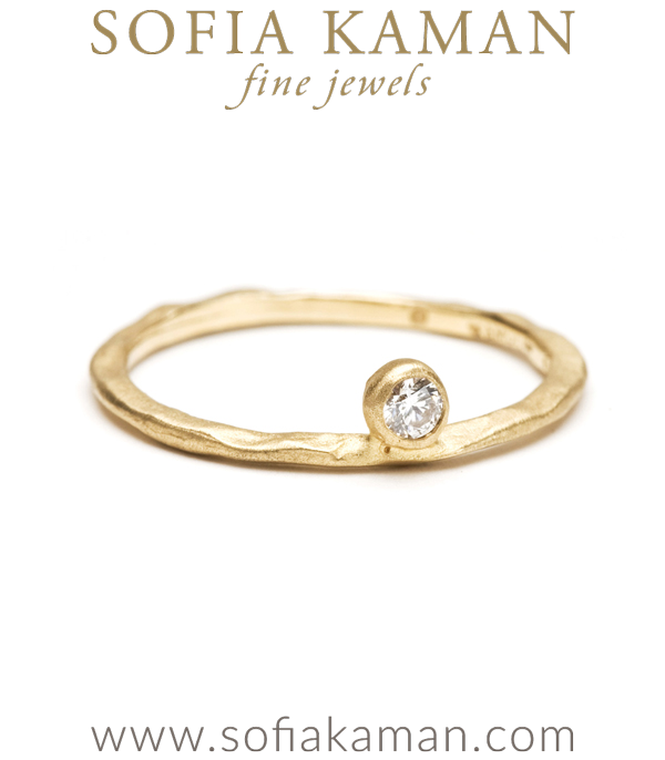 Simplicity Sideways Diamond Band
