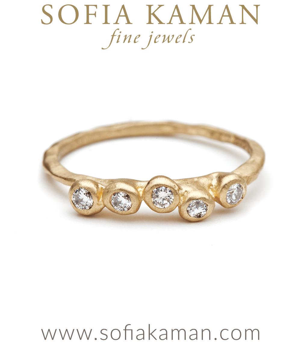 tresor textured cobblestone ring - Bohemian Wedding Rings