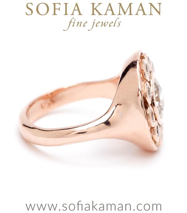 Cosmic Diamond Cluster Ring