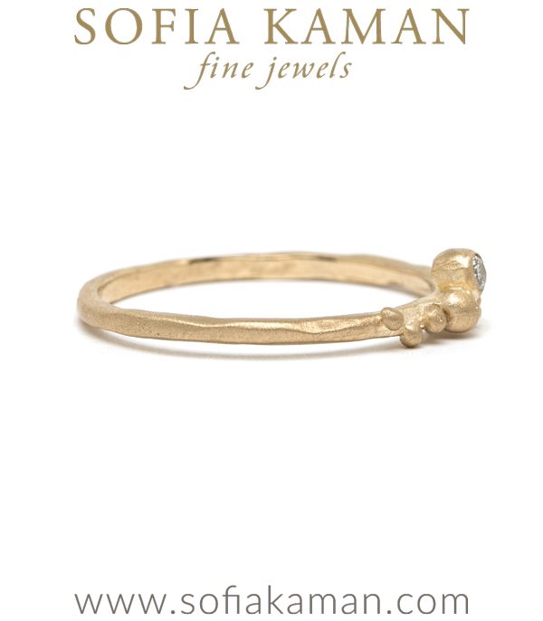 Ethically Sourced Diamond Boho Stacking Ring