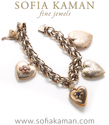 Gold-Filled Heart Locket Bracelet
