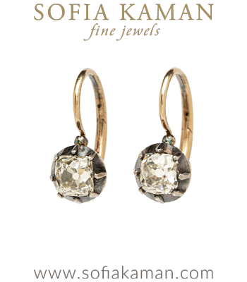 Vintage Victorian Earrings for Vintage Engagement Rings curated by Sofia Kaman