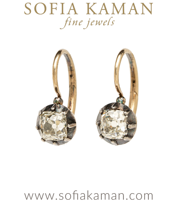Vintage Victorian Earrings for Vintage Engagement Rings curated by Sofia Kaman.
