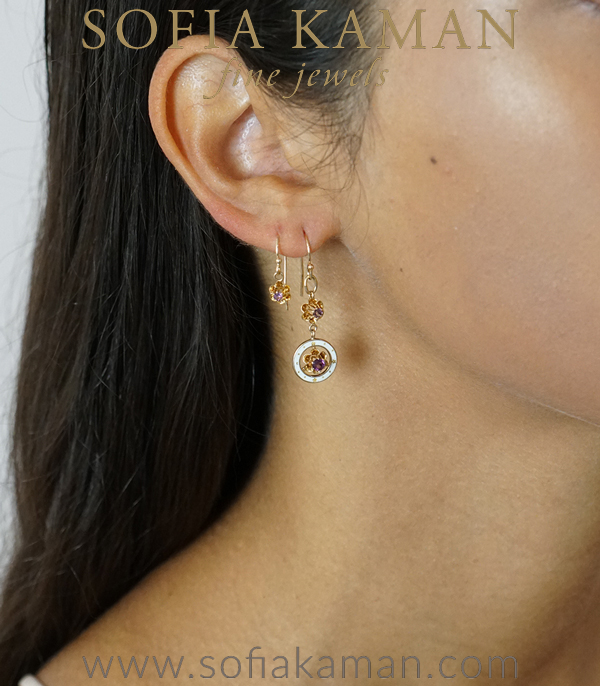 Vintage Bridal Earrings For Engagement Rings