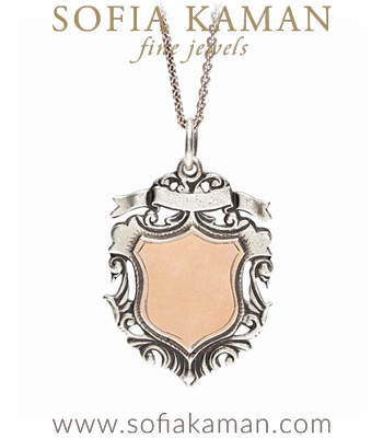 Victorian Shield Pendant