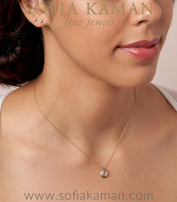 Moonstone Necklace For Engagement Rings