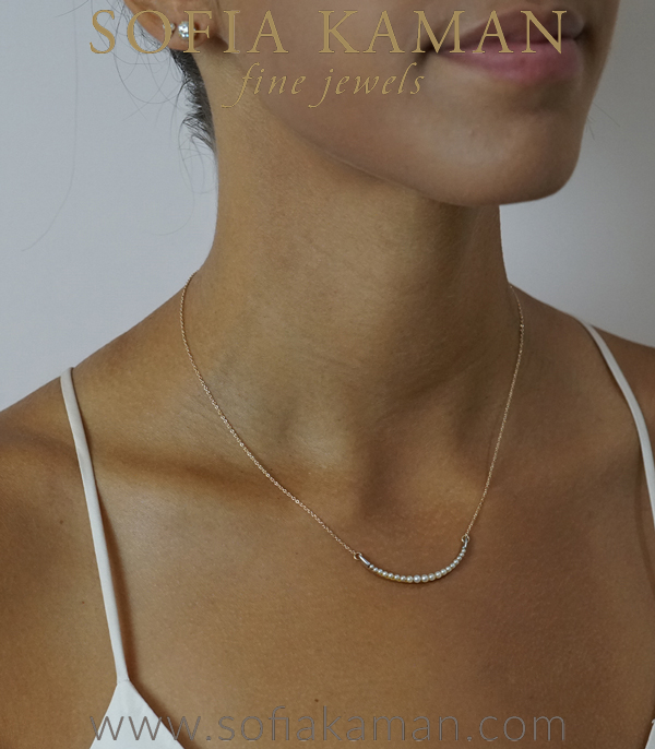 Pearl Bridal Necklace For Engagement Rings