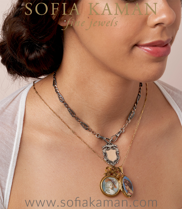 Locket Necklace For Engagement Rings