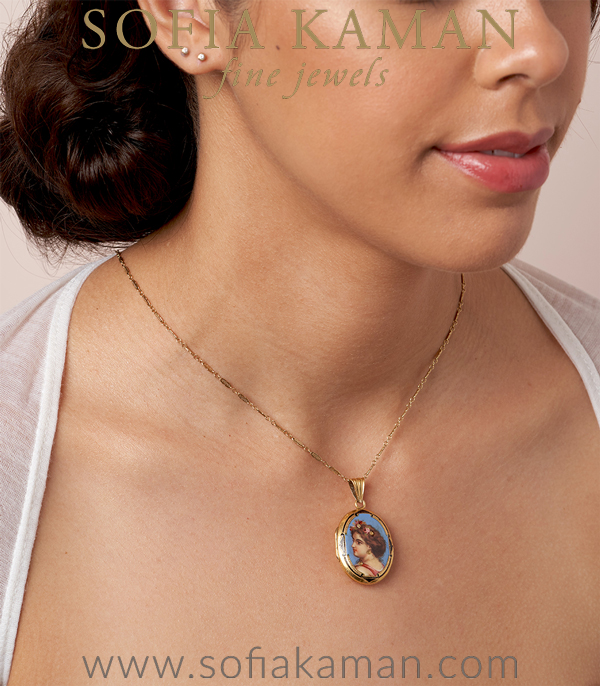 Vintage Necklace For Engagement Rings
