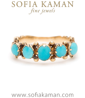 Regency Turquoise Stacking Ring