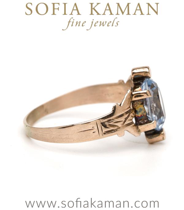 Victorian Vintage Aquamarine Ring