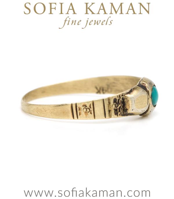 Vintage Victorian Bohemian Midi Ring