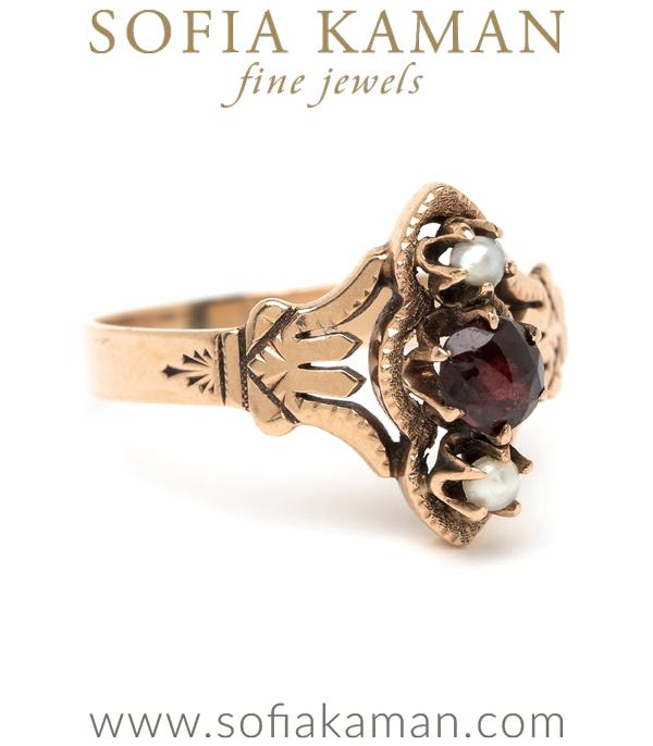 Victorian Garnet Ring