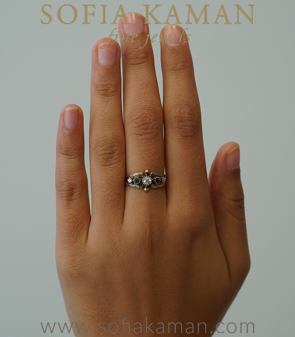 Victorian Stacking Ring