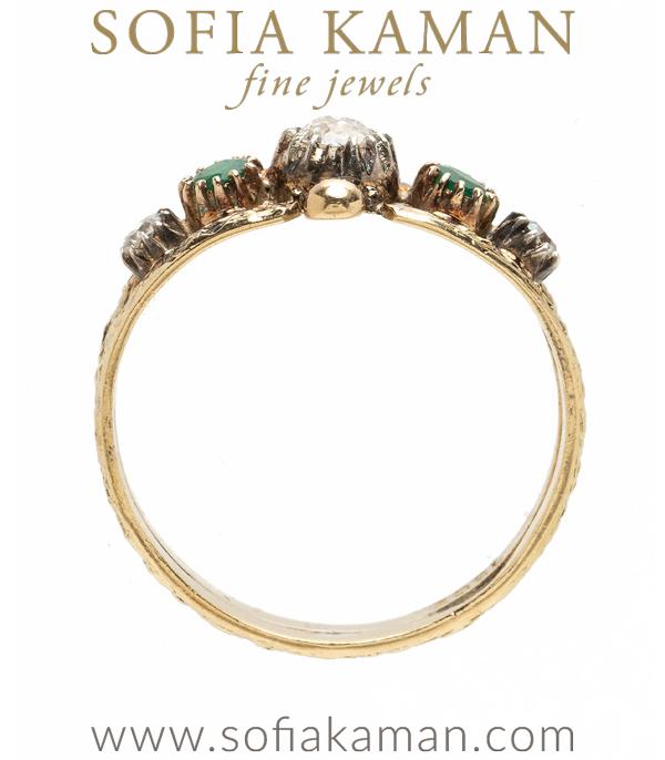 Vintage Diamond Stacking Ring