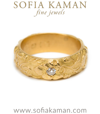 Unique Indie Classic Bohemian Vintage Wedding Band