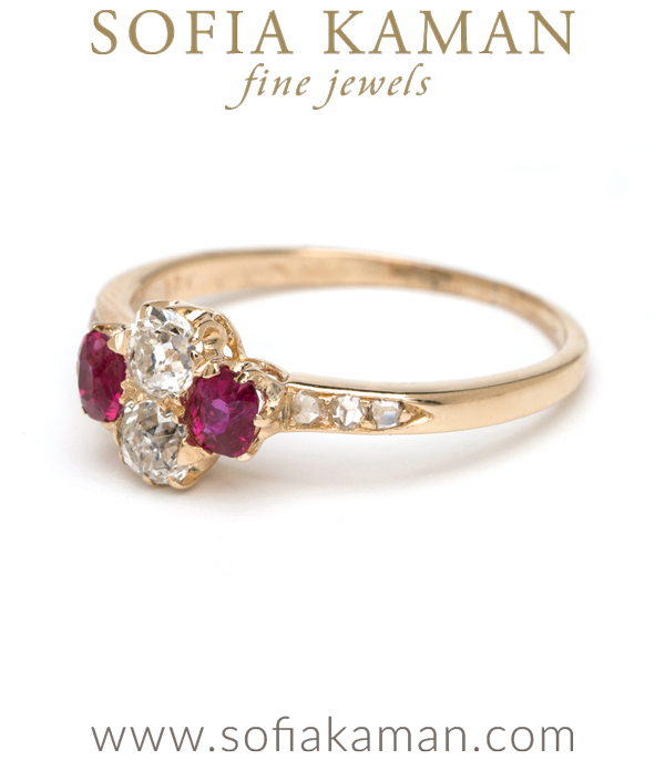 Ruby And Diamond Band