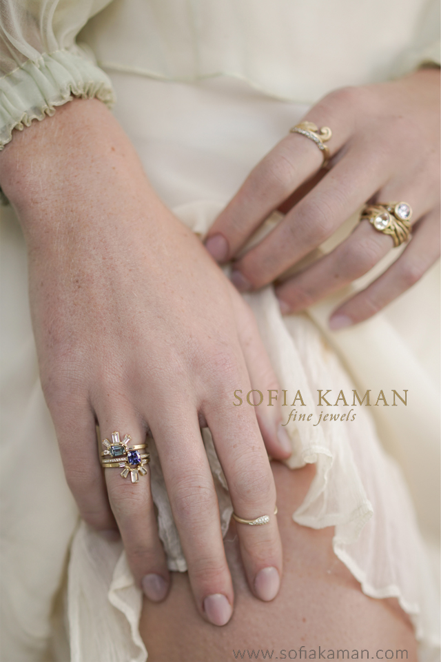 Ethically Sourced Sustaiably Styled Bohemian Bridal Jewelry and Engagment Rings